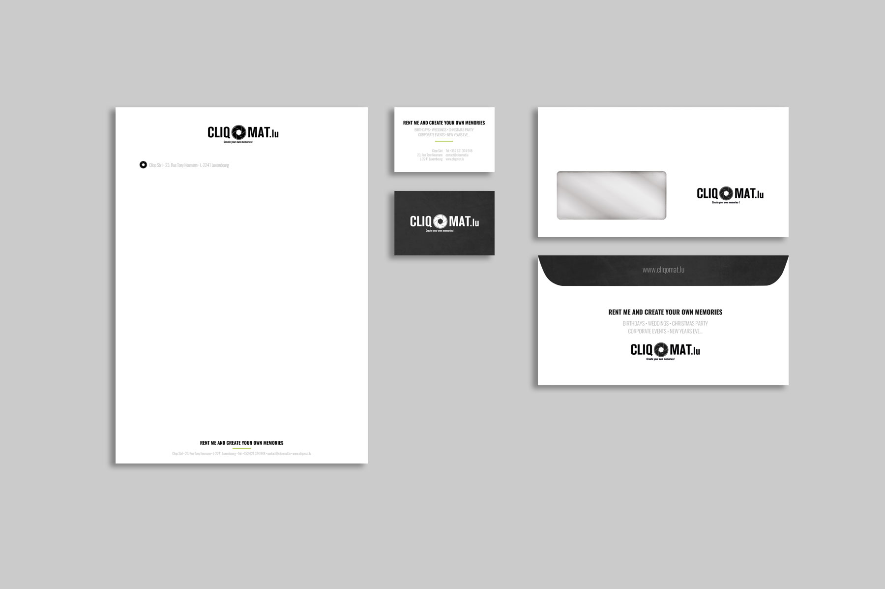 Corporate Design, Geschaäftsausstattung Gestaltung